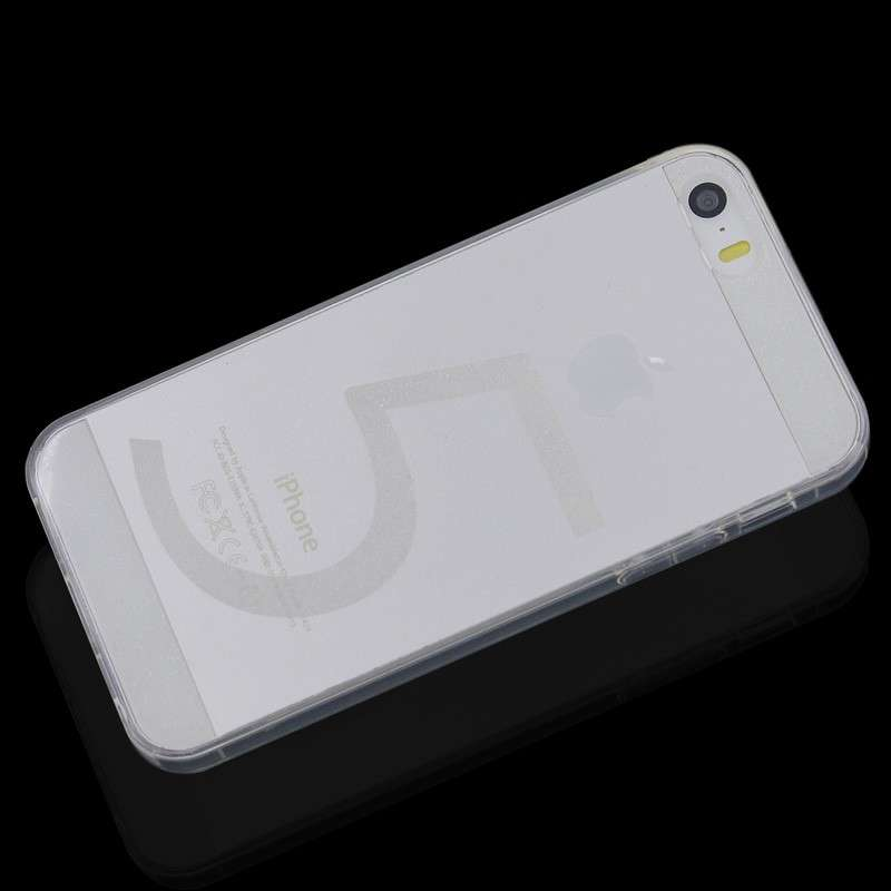 Invisible Transparent TPU Case Back Cover for iPhone 5/5S | MKC-14730