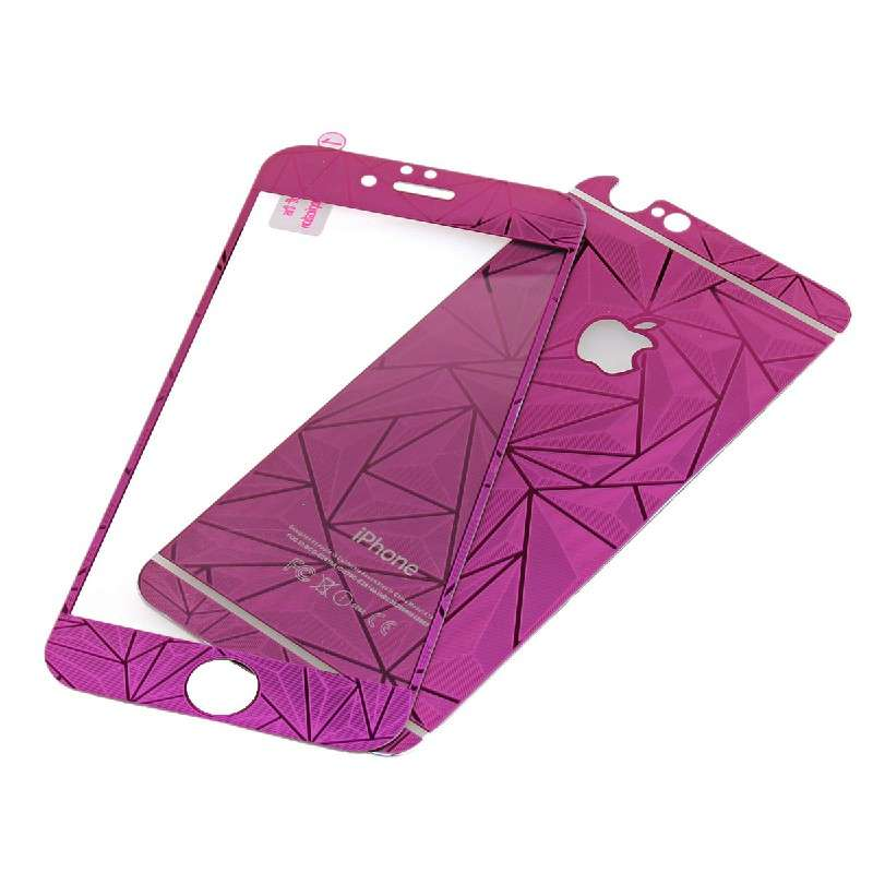 Front + Back Tempered Glass 3D Diamond Effect Screen Protector | MPF-16551