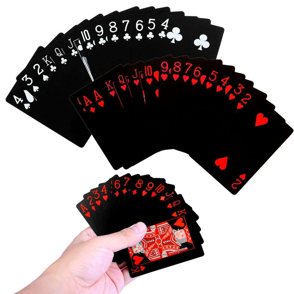 Plastic Playing Cards Poker Deck Gift Waterproof UK Pound Queen UK SUPPLIER
